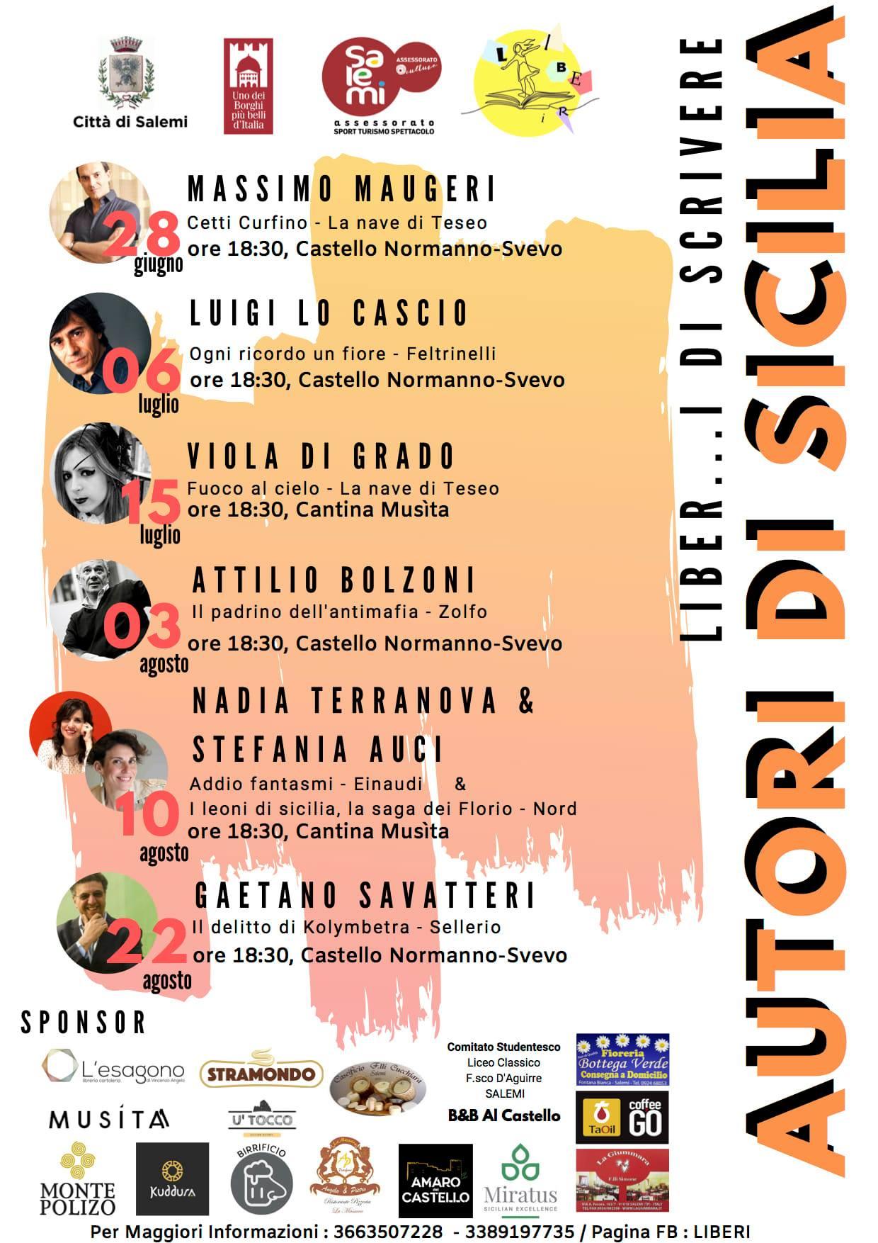 Liber…i di scrivere – Autori di Sicilia 2019