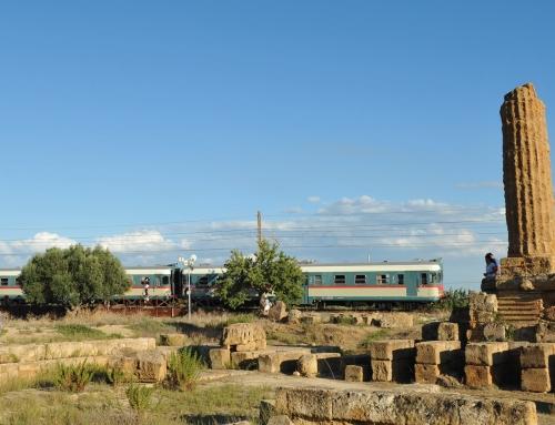 Il treno dei prodotti della terra dell'agrigentino