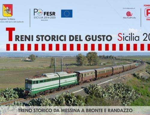 Il treno del pistacchio verde di Bronte e frutta dell'Etna