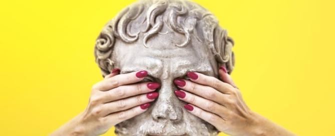 Immagine guida, campagna di comunicazione ' Quando le statue sognano', di Mimmo Rubino-2