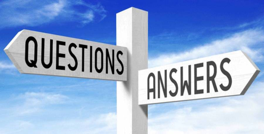 Questions and anwers