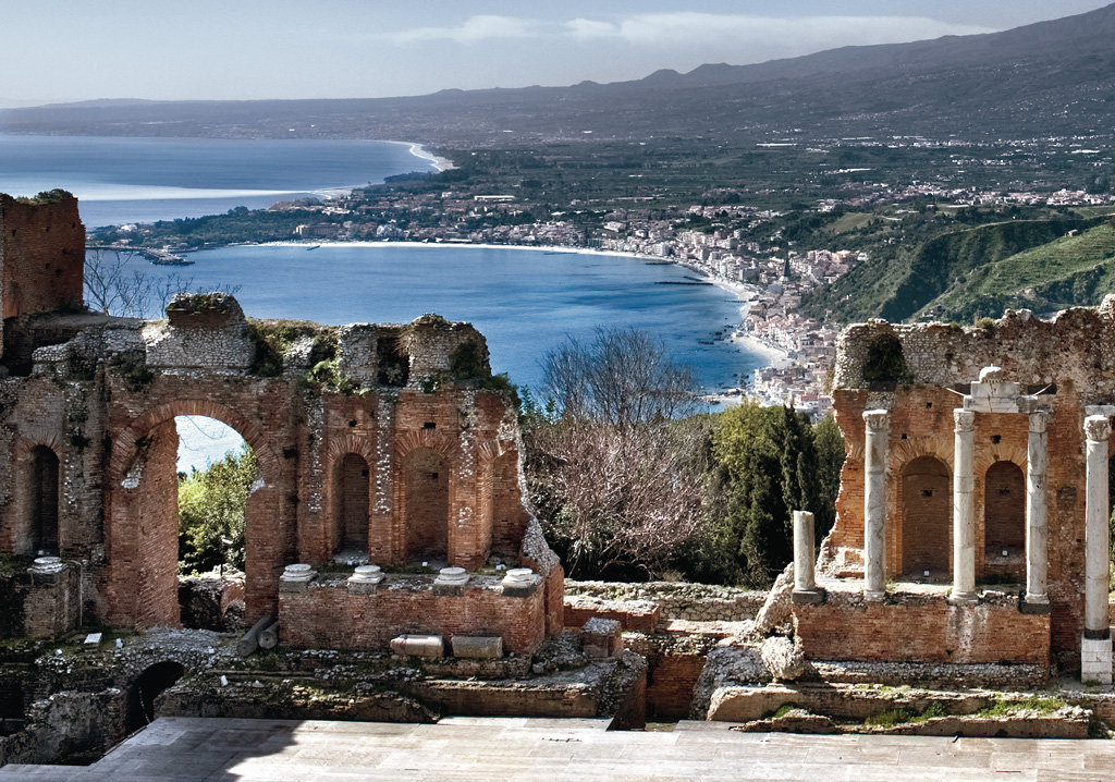 The greek theatre of taormina visit sicily official page for Taormina sicilia
