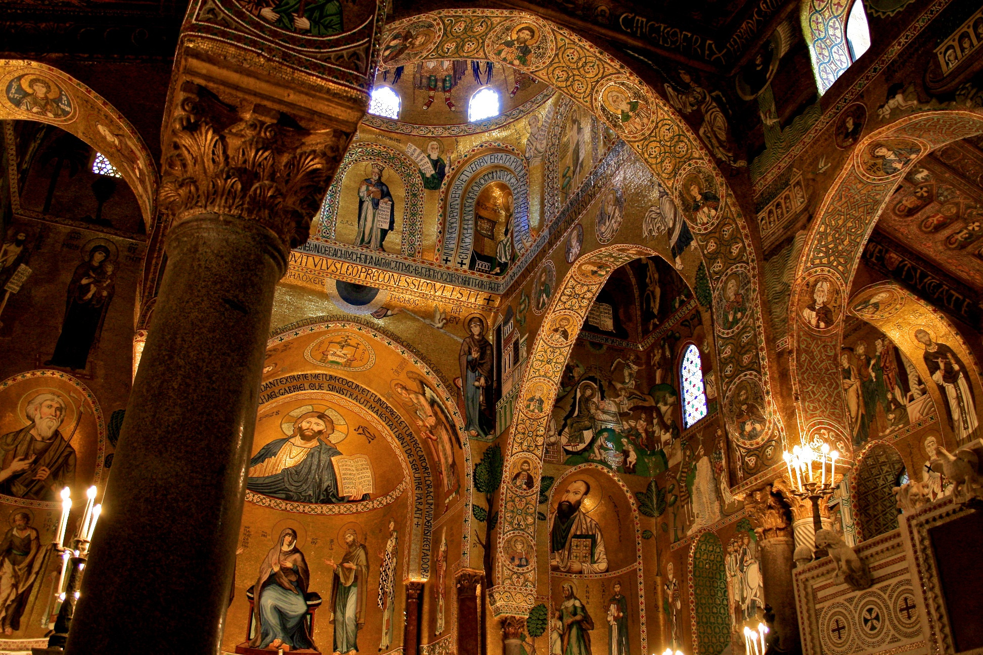 Mosaici Cappella Palatina Palermo ph. Diego Emanuela