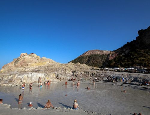 Vulcano mud baths