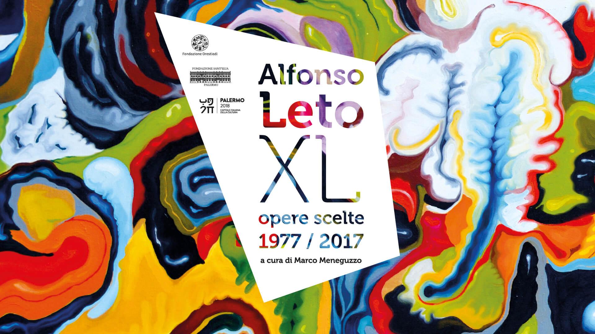 Alfonso Leto – Opere Scelte. 1977-2017 palermo sant'elia