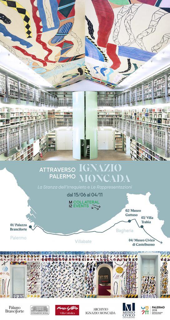 """Ignazio Moncada """"Attraverso Palermo"""" manifesta12"""